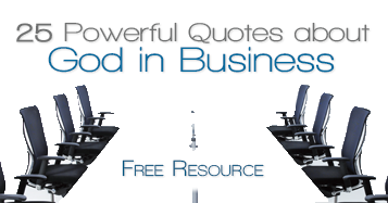 theology of business partnering with god in business
